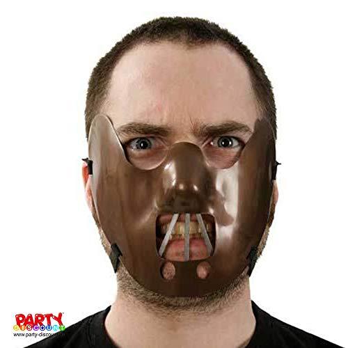 Kostüm Lecter Maske Hannibal - PARTY DISCOUNT ® Maske Beißer