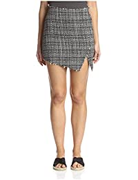 Lucca Couture Women's Tweed Mini Skirt