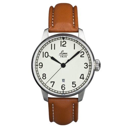 Laco Herren-Armbanduhr XL Analog Automatik Leder 861651