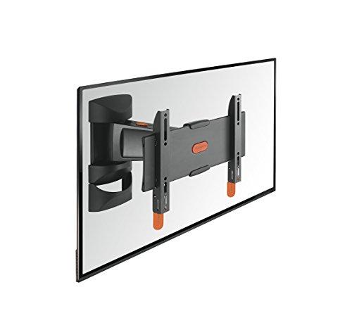 Vogel's BASE 25 S TV-Wandhalterung für 48-102 cm (19-40 Zoll) Fernseher, 120° schwenkbar, max. 20 kg, Vesa max. 200 x 200, schwarz