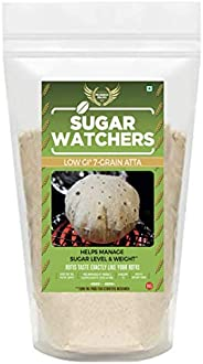Sugar Watchers Low GI 7-Grain Atta, Diabetic Friendly Atta, Multigrain Atta; 4 Kg