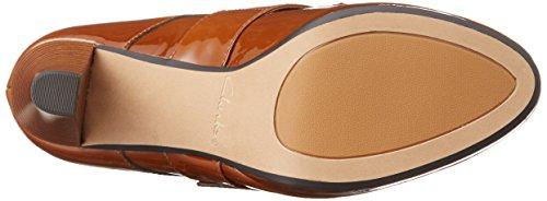 Clarks  Kendra Art, Chaussures à talons - Avant du pieds couvert femmes Marron (Cognac)