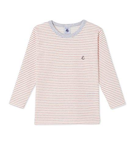 Petit Bateau Jungen Unterhemd T-Shirt ml, Mehrfarbig (Lait/Froufrou 62), 98 (Herstellergrö Preisvergleich