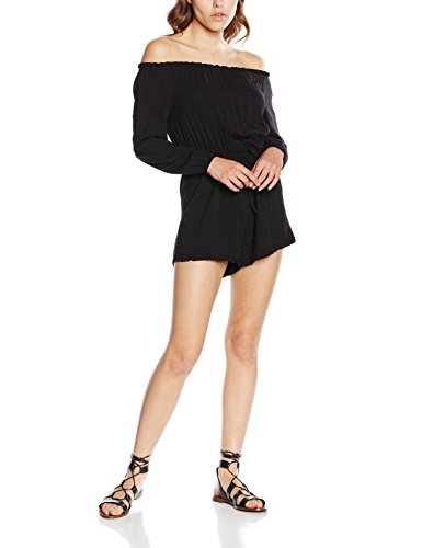 New Look Bardot, Combinaison Femme Noir - Noir