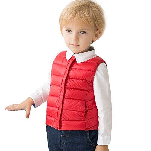 marc janie Baby Toddler Boys Girls' Packable Lightweight Down Puffer Vest
