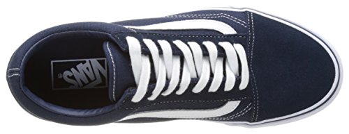 Vans Ua Old Skool, Scarpe da Ginnastica Basse Uomo Blu (Dress Blues/true White)