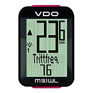 41Ah4VsF JL. SS300  - VDO M3.1 digitaler Fahrradcomputer 2017 Tacho, schwarz-rot