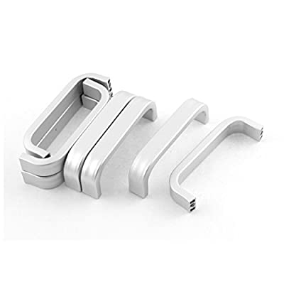 sourcingmap® 64mm Length Cabinet Drawer Cupboard Door Pull Handles Grip 8pcs - inexpensive UK light store.
