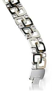 XC38 - 70023911300220 - Bracelet Femme - Fantaisie - Acier inoxydable - 22 cm