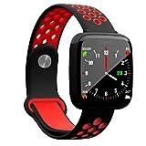 Longzhuo grande schermo fitness tracker Smart Wristband Smartband F15Smart orologio multi-funzione, Red