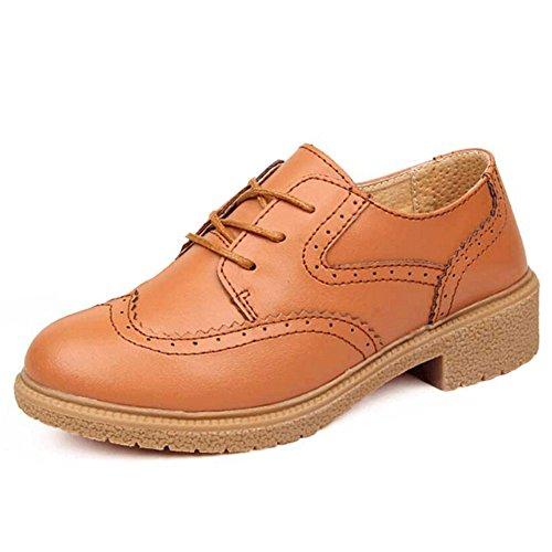 Hattie , Chaussures à lacets femme Marron