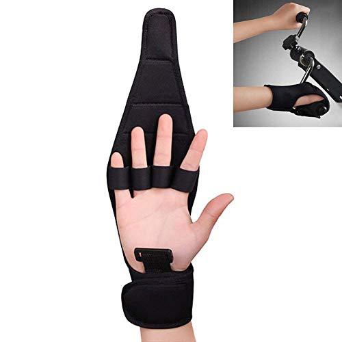LJXiioo Finger-Schiene-Klammer-Fähigkeit, Finger-Handschuh-Klammer ältere Faustschlag-Hemiplegie-Handtraining (1pair) -