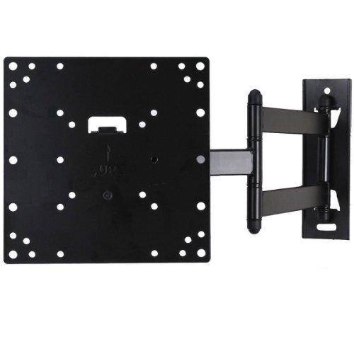 """VideoSecu perfil bajo (1.9"""") giratorio de inclinación soporte de pared para televisor soporte de pared para la mayoría de 23"""" -37, """"algunos LED hasta 42pulgadas con VESA 200x 200200X 100100x 100LCD LED Plasma TV o monitor, brazo articulado (20"""" extensión) 3KB"""