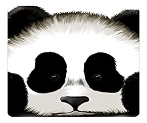 Custom Cute Panda Anti Slip Comfort Gaming Mouse Pad - Durable Office Accessory Gift