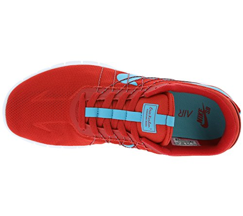 Nike Koston Max, Chaussures de Sport Homme, Noir, EU Rouge - Rojo (University Red / Omg Blue-White)
