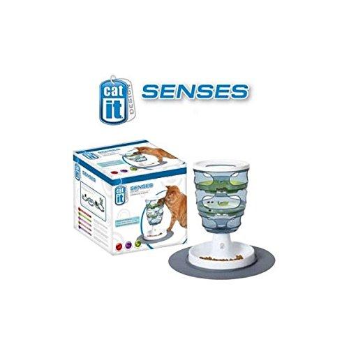 CATIT Senses Futter-Labyrinth, Katzenspielzeug, Geschicklichkeitsspielzeug für Katzen