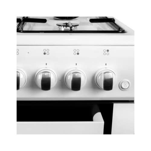41Ah88KD UL. SS500  - iQ 50cm Single Cavity Gas Cooker - White