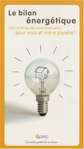 Le bilan énergétique : Ou, comment améliorer les performances énergétiques de votre logement ?