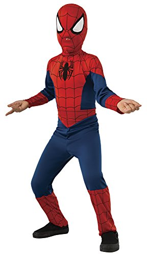 Spiderman - Disfraz ultimate classic infantil, talla M (Rubie's Spain 880539-M)