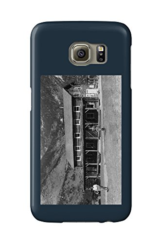 Ranch Lodge (Alpine, Montana - Exterior Of Ter-O-Dar Ranch Main Lodge (Galaxy S6 Cell Phone Case, Slim Barely There))