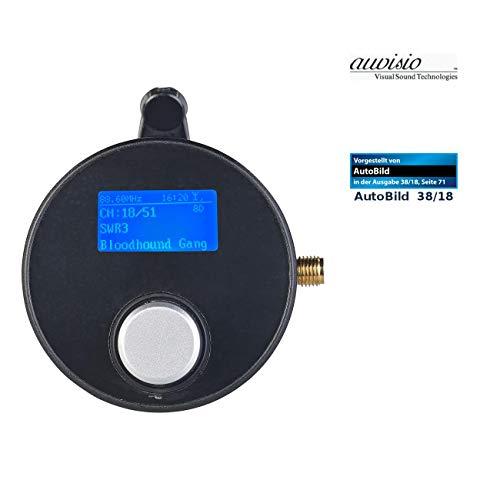 auvisio DAB Autoradio: DAB+/DAB-Empfänger mit FM-Transmitter, AUX-Audioausgang, für Kfz/HiFi (DAB Tuner)