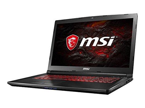 MSI GL72 7RDX-602 Gaming Notebook 17.3 Zoll Full HD i7-7700HQ 8GB 1TB HDD GTX 1050 - ohne Windows