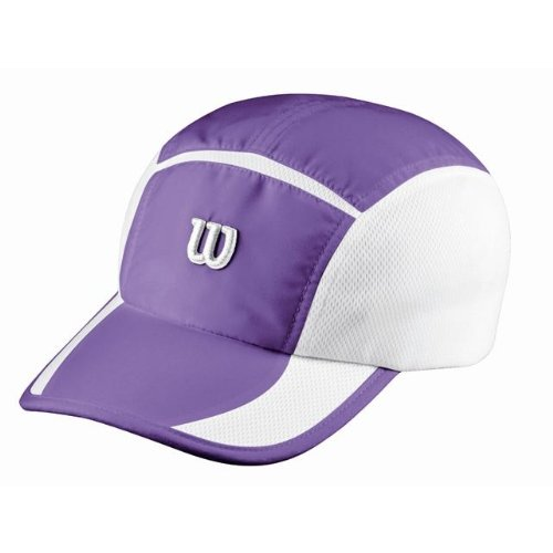 Wilson Performance Berretto, Viola/Bianco, Unica