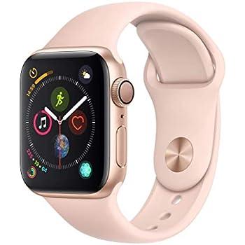 Apple Watch Series 4 Reloj Inteligente Oro OLED GPS (satélite) - Relojes Inteligentes (OLED, Pantalla táctil, GPS (satélite), 18 h, 30,1 g, Oro)