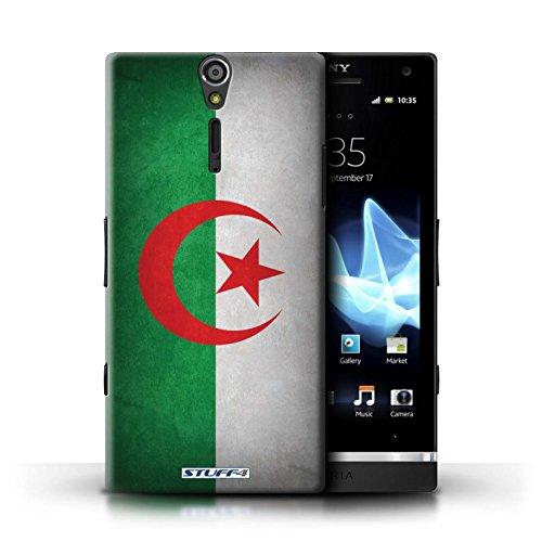 Kobalt® Imprimé Etui / Coque pour Sony Xperia S/LT26i / Jamaïque/jamaïcain conception / Série Drapeau Algérie