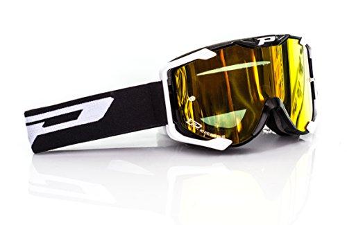 Preisvergleich Produktbild Progrip 3404 MX Brille Multilayered,  Schwarz,  Größe uni