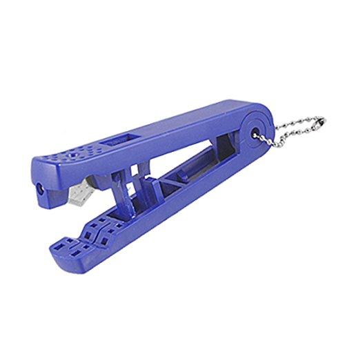 Sourcingmap a11042500ux0173 12 mm poignée en plastique et lame en métal de rechange pour coupe-Tube pour Tube de poche-Bleu