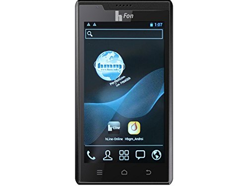 hFon plus Android Telehealth Touchscreen Smartphone mit integrierten Blutzuckermesssystem