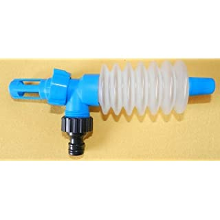 Handpumpe zum Entleeren von Wasserbetten - Komplett-Set inkl. Anschlussadapter, Gardena-Kompatibel by AQUAMON