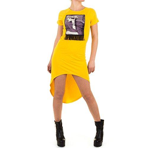 Ital-Design -  Vestito  - Donna Giallo