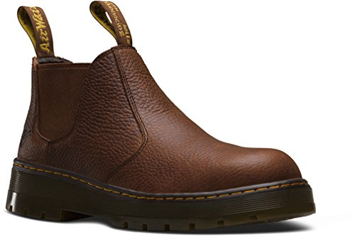 Dr. Martens Men's Rivet Steel Toe Chelsea Boot -