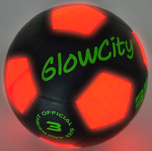 Größe Light Up LED Fußball ball-uses Helle LED-Licht ()