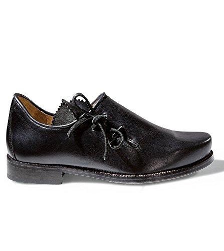 Stockerpoint Trachten Schuhe Haferlschuhe 1290 schwarz Nappa, 46