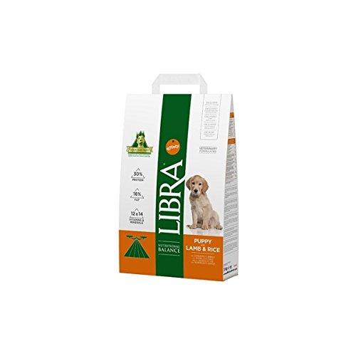 LIBRA Pienso para perros cachorros pequeños, medianos y grandes cordero y arroz 15 kg