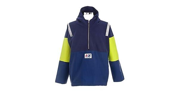Fishing Oilskins PVC//Fleece Pullover PVC Waterproof Jacket Stormline 806