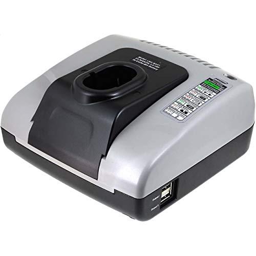 akku-net Akku-Ladegerät mit USB für Makita Typ 9100, 7,2V-18V 9100 Usb