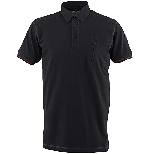 "Preisvergleich Produktbild Mascot Polo-shirt ""Kreta"", 1 Stück, XL, schwarz, 50351-833-09-XL"