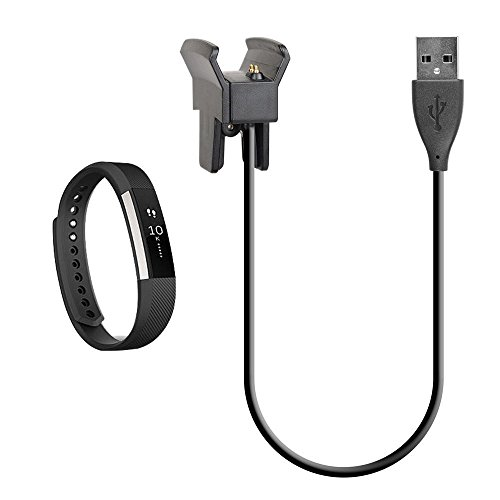 41AhIkzr0pL. SS500  - LeSB Fitbit Alta Charger, Fitbit Alta Charging Cable Replacement USB Charger Clip USB Charger Cord for Fitbit Alta Watch…
