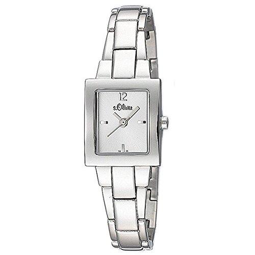 s.Oliver Damen-Armbanduhr Analog Quarz SO-15082-MQR