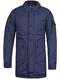 Weekend Offender leven Navy Jacket-Extra Small