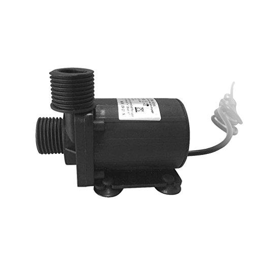 Gugutogo Miniatur-Wasserpumpe 12V Aufzug 5m 800l/H Niederdruck-Elektro-Membranpumpe (Farbe: schwarz) (Niederdruck-farbe)