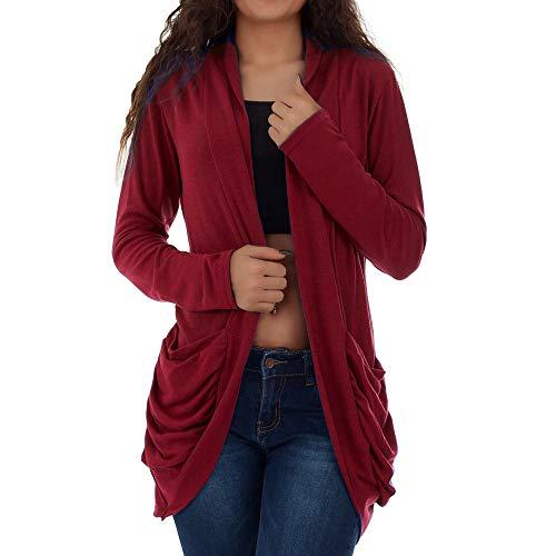 Vicgrey ❤ cardigan donna elegante a manica lunghezza golfino casual coprispalle per casa viaggio e giacca leggera per primavera estate autunno