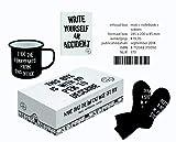 MTTCW Giftbox (notebook, sokken en koffiemok)