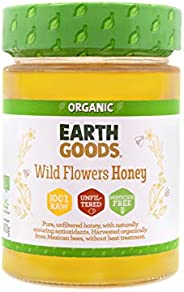 Earth Goods Organic Wild Flower Honey, 400 gm