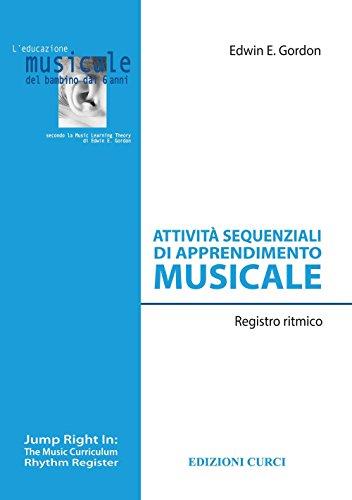 Attività sequenziali di apprendimento musicale. Registro ritmico