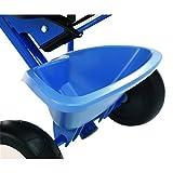 Kettler Funtrike Waldi - das coole Dreirad mit Schiebestange - Kinderdreirad für Kinder ab 2 Jahren - stabiles Kinderfahrzeug inkl. kippbarer Sandschale - blau -